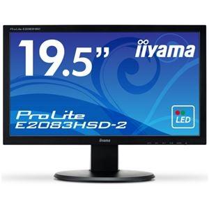 その他 iiyama 19.5型ワイド HD+2系統入力 スピーカー付 E2083HSD-B2 1台 ds-2289112