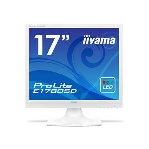 その他 iiyama ProLite17型スクエア液晶ディスプレイ ノングレア ピュアホワイト E1780SD-W1 1台 ds-2289137
