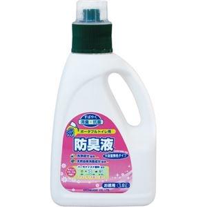 その他 アロン化成 ポータブルトイレ用防臭液大容量 無色タイプ 1.8L 533-209 1セット(6本) ds-2289149