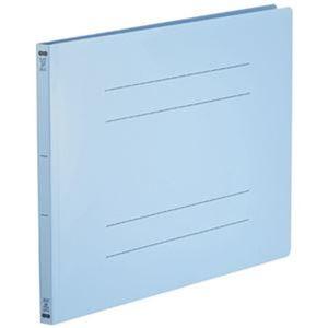 その他 (まとめ)TANOSEE フラットファイル(再生PP)A3ヨコ 150枚収容 背幅18mm ブルー 1パック(5冊)【×10セット】 ds-2308883