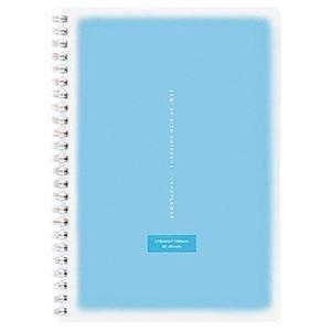 その他 (まとめ)コクヨ ツインリングノート<コロレー> A5 50枚 ブルー ス-TV31AN-B 1セット(5冊)【×10セット】 ds-2309078