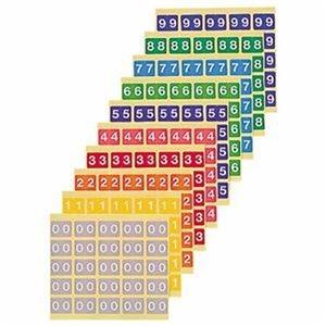 その他 (まとめ)ライオン事務器 カラーナンバーラベルM 数字 6 KM-2-6 1パック(250片:25片×10シート)【×10セット】 ds-2309369