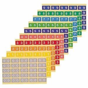 その他 (まとめ)ライオン事務器 カラーナンバーラベルL 数字 0 KL-2-0 1パック(250片:25片×10シート)【×10セット】 ds-2309373