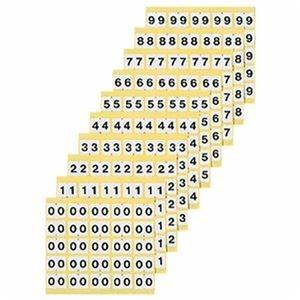 その他 (まとめ)ライオン事務器 ナンバーラベルM 数字 0 KM-1-0 1パック(250片:25片×10シート)【×10セット】 ds-2309383