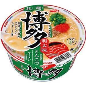 その他 (まとめ)サンヨー食品 サッポロ一番 旅麺 博多明太味とんこつラーメン 1ケース(12食)【×10セット】 ds-2309476
