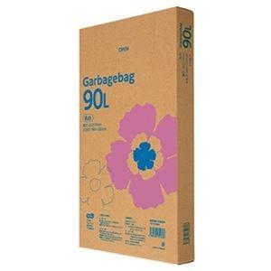 その他 (まとめ)TANOSEE ゴミ袋エコノミー乳白半透明 90L BOXタイプ 1箱(110枚)【×5セット】 ds-2309983