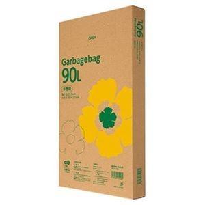 その他 (まとめ)TANOSEE ゴミ袋エコノミー 半透明 90L BOXタイプ 1箱(110枚)【×5セット】 ds-2309984