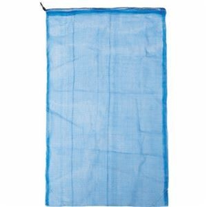 その他 (まとめ)TRUSCO メッシュ回収袋35×20cm ブルー TMK-3520-50 1箱(50枚)【×5セット】 ds-2309997