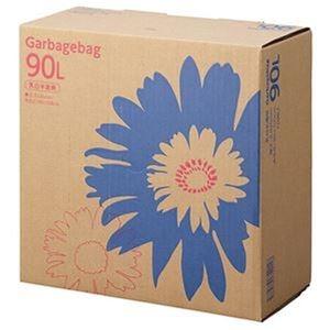 その他 (まとめ)TANOSEE ゴミ袋 コンパクト乳白半透明 90L BOXタイプ 1箱(110枚)【×5セット】 ds-2310003