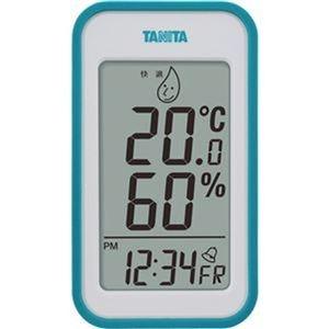 その他 (まとめ)タニタ デジタル温湿度計 ブルーTT559BL 1個【×5セット】 ds-2310210