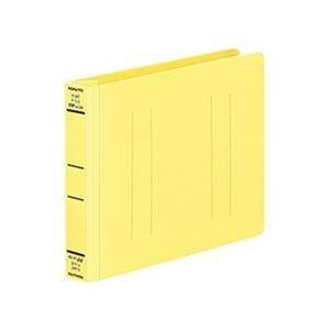 その他 (まとめ)コクヨ フラットファイル(PPワイド)B6ヨコ 250枚収容 背幅30mm 黄 フ-HW18NY 1セット(10冊)【×5セット】 ds-2310729