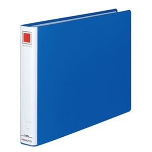その他 (まとめ)コクヨ チューブファイル(エコ)片開きB4ヨコ 300枚収容 30mmとじ 背幅45mm 青 フ-E639B 1セット(2冊)【×5セット】 ds-2310751