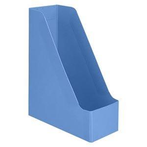 その他 (まとめ)TANOSEE PP製ボックスファイル(組み立て式)A4タテ ブルー 1セット(10個)【×5セット】 ds-2311082