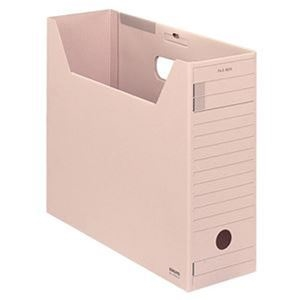 その他 (まとめ)コクヨ ファイルボックス-FS(Fタイプ)A4ヨコ 背幅102mm ピンク フタ付 A4-LFFN-P 1セット(5冊)【×5セット】 ds-2311083