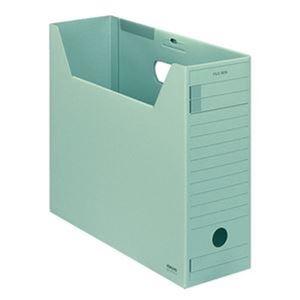 その他 (まとめ)コクヨ ファイルボックス-FS(Fタイプ)A4ヨコ 背幅102mm 緑 フタ付 A4-LFFN-g 1セット(5冊)【×5セット】 ds-2311084