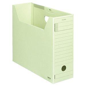 その他 (まとめ)コクヨ ファイルボックス-FS(ミックスペーパー)A4ヨコ 背幅102mm 緑 フタ付 A4-LFJ-g 1セット(5冊)【×5セット】 ds-2311089