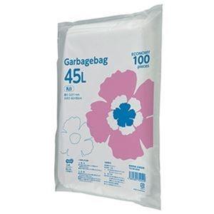 その他 (まとめ)TANOSEE ゴミ袋エコノミー乳白半透明 45L 1セット(1000枚:100枚×10パック)【×3セット】 ds-2311689