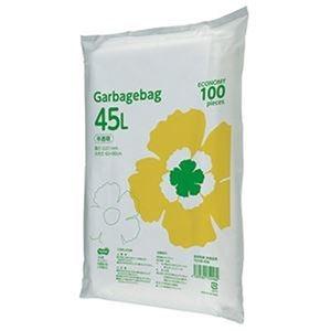 その他 (まとめ)TANOSEE ゴミ袋エコノミー 半透明 45L 1セット(1000枚:100枚×10パック)【×3セット】 ds-2311690