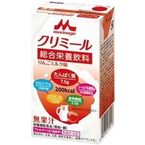 その他 (まとめ)森永乳業 エンジョイクリミールりんごミルク味 125ml 1セット(24本)【×3セット】 ds-2312095