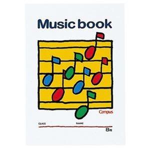 その他 (まとめ)コクヨ キャンパス 音楽帳 B55線譜・8段 18枚 オン-24 1セット(20冊)【×3セット】 ds-2312695
