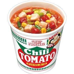 その他 (まとめ)日清食品 カップ ヌードルチリトマトヌードル 76g 1ケース(20食)【×4セット】 ds-2312966
