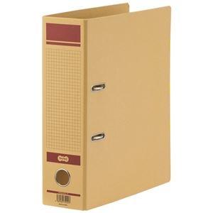 1冊【×10セット】 保存用レバー式アーチファイルN その他 A4タテ (まとめ)TANOSEE 背幅83mm 赤 ds-2299710