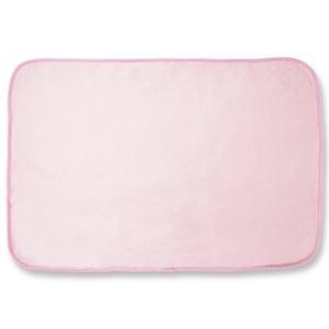 その他 (まとめ)オーミケンシ フリースひざ掛け ピンク 1枚【×10セット】 ds-2300794