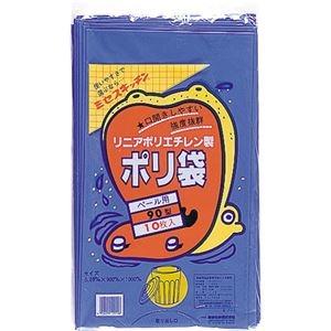 その他 (まとめ)積水フィルム 積水 90型ポリ袋 青#7-1 N-9707 1パック(10枚)【×10セット】 ds-2301051