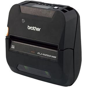 その他 ブラザー 4インチ用紙幅感熱モバイルプリンター(ラベル・レシート兼用モデル)RJ-4250WB 1台 ds-2289610