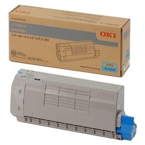 その他 沖データ 大容量トナーカートリッジ シアン TC-C4CC2 1個 ds-2289868