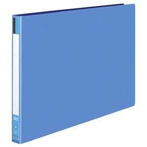 その他 コクヨ リングファイル 色厚板紙表紙A3ヨコ 2穴 170枚収容 背幅30mm 青 フ-423NB 1セット(10冊) ds-2290979