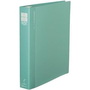 その他 コクヨ ロックリングファイル(シングルレバー)A4タテ 4穴 300枚収容 背幅47mm 緑 フ-TLF444g 1セット(10冊) ds-2291019