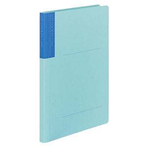 1セット(60冊) 青 ソフトカラーファイル 背幅18mm コクヨ その他 ds-2291136 A4タテ150枚収容 フ-1-1
