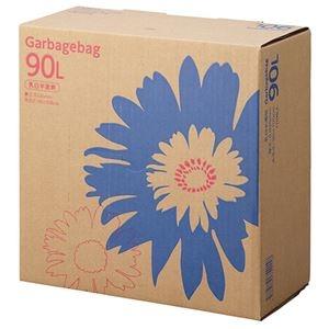 その他 TANOSEE ゴミ袋 コンパクト乳白半透明 90L BOXタイプ 1セット(330枚:110枚×3箱) ds-2293020