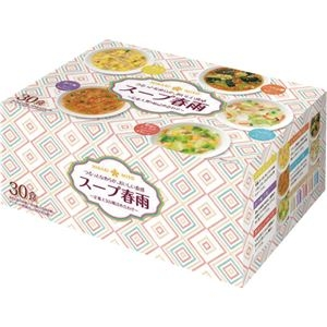 その他 (まとめ)ひかり味噌 スープ春雨定番5種詰め合わせ 1パック(30食)【×5セット】 ds-2296298