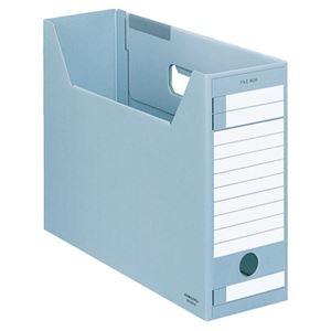 ds-2296502 ファイルボックス-FS(Eタイプ)(A4ジャスボックス)A4ヨコ (まとめ)コクヨ その他 背幅102mm 1セット(5冊)【×5セット】 青 A4-LFE-B