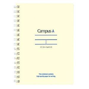 その他 (まとめ)コクヨ キャンパスツインリングノート(ミニサイズ)A6 A罫 50枚 青 ス-T150A-B 1セット(10冊)【×5セット】 ds-2296798
