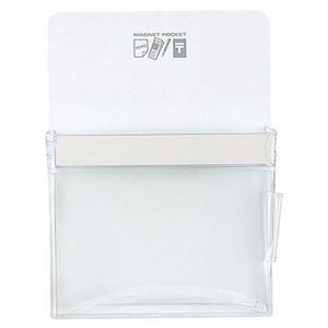 1個【×5セット】 ds-2297607 (まとめ)コクヨ その他 白 B5270×197mm マグネットポケット マク-501NW