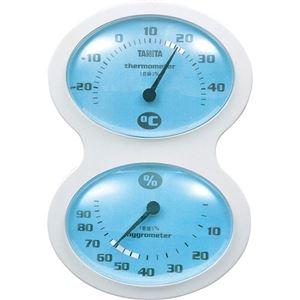 その他 (まとめ)タニタ 温湿度計 ブルーTT-509-BL 1個【×5セット】 ds-2297816