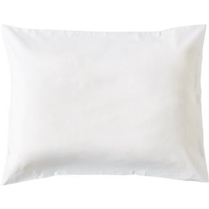 その他 (まとめ)枕カバー 封筒型 50×90cmホワイト 1セット(3枚)【×5セット】 ds-2298153