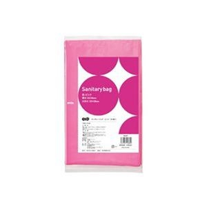 その他 (まとめ)TANOSEE サニタリーバッグ ピンク 1パック(50枚)【×50セット】 ds-2303789