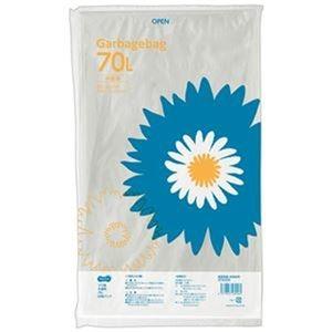 配送員設置送料無料 人気ショップが最安値挑戦 送料無料 その他 まとめ TANOSEE ゴミ袋 半透明 ds-2303817 ×50セット 70L 20枚 1パック
