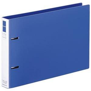 その他 (まとめ)コクヨ リングファイル(スリムスタイル)B5ヨコ 2穴 220枚収容 背幅33mm 青 フ-URF436B 1冊【×50セット】 ds-2304330