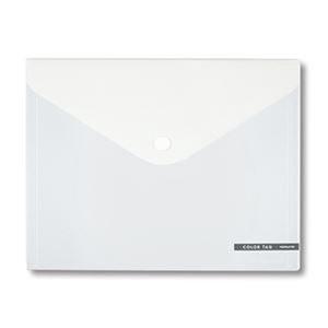 その他 (まとめ)コクヨ ホックケース(カラータグ)Bi-COLOR L(長3封筒・パンフレット)透明 CTクケ-C5330T 1枚【×50セット】 ds-2304463