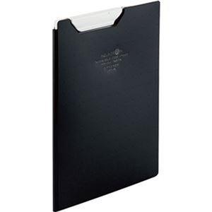 その他 (まとめ)リヒトラブ AQUA DROPsクリップファイル A5 黒(不透明)F-5065-24 1枚【×20セット】 ds-2304512