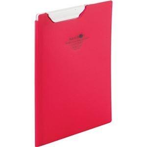 その他 (まとめ)リヒトラブ AQUA DROPsクリップファイル A5 赤 F-5065-3 1枚【×20セット】 ds-2304514