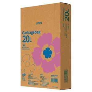 その他 (まとめ)TANOSEE ゴミ袋エコノミー乳白半透明 20L BOXタイプ 1箱(110枚)【×20セット】 ds-2305027