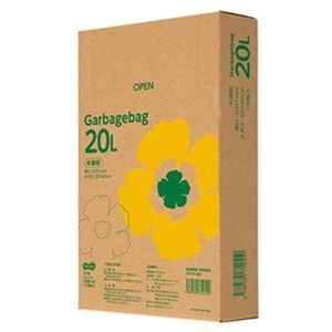 その他 (まとめ)TANOSEE ゴミ袋エコノミー 半透明 20L BOXタイプ 1箱(110枚)【×20セット】 ds-2305028