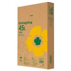 その他 (まとめ)TANOSEE ゴミ袋エコノミー 半透明 45L BOXタイプ 1箱(110枚)【×20セット】 ds-2305053