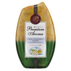 その他 (まとめ)エステー お部屋の消臭力 PremiumAroma フレッシュカモミール&ジャスミン 400ml 1個【×20セット】 ds-2305212